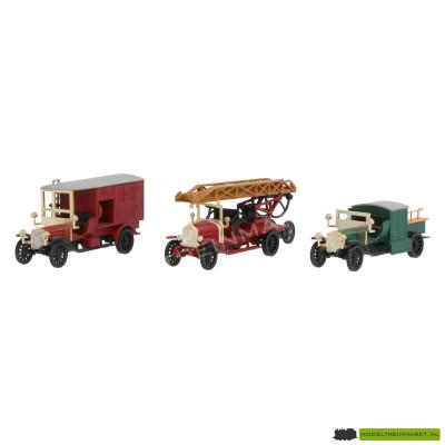 1886 Märklin Set oldtimer brandweerwagens