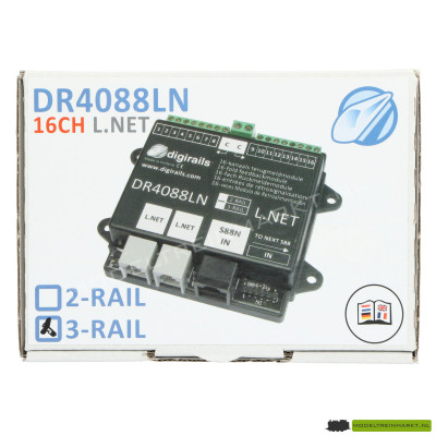 DR4088LN-GND (3R) Digikeijs 16-kanaals terugmeldmodule