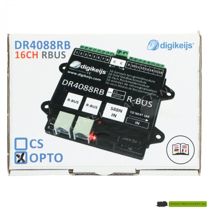 DR4088DR-OPTO Digikeijs 16-kanaals terugmeldmodule