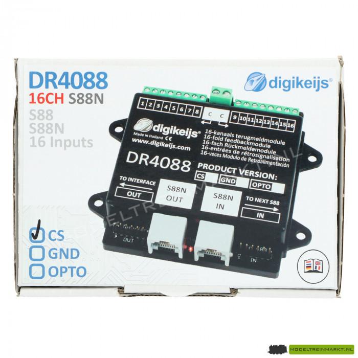 DR4088CS Digikeijs 16-kanaals terugmeldmodule