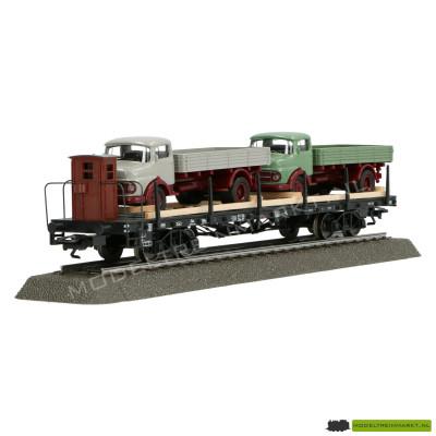 46285 Märklin Voertuigtransporter met vrachtwagens