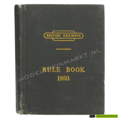 British Railways Rule Book 1950