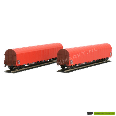45.613 B-models Set met 2 huifwagens