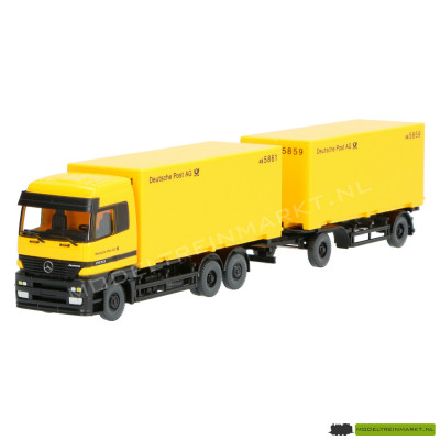 573 06 39 Wiking Trailer Deutsche Post AG