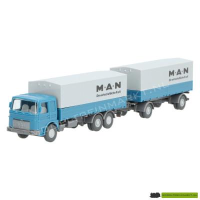 470 Wiking Vrachtwagen met aanhanger MAN