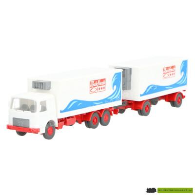 472 Wiking MAN gekoelde vrachtwagen met aanhanger