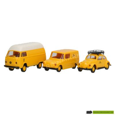 Brekina Volkswagens Deutsche Post serie 6