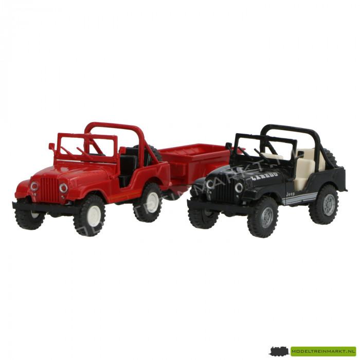 1711 Roco set van 2 jeeps