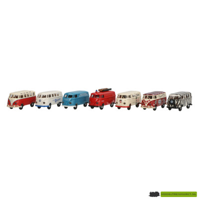 9023 Brekina Verzamelbox VW-Transporter