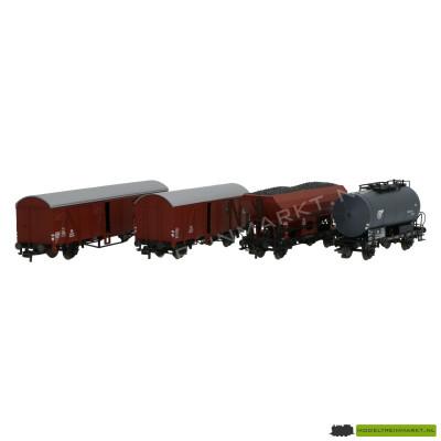 44054 Roco Wagon set uit 44054 - 4 stuks