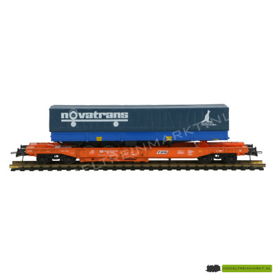 44311E Roco Vrachtwagentransportwagen 'Novatrans'
