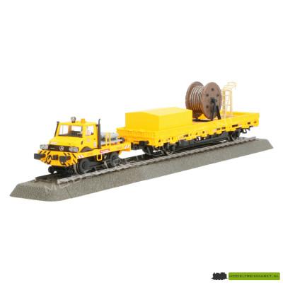 39940 Märklin Tweeweg-Unimog met bovenleidingbouwwagen