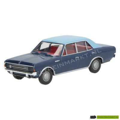 Brekina Opel Rekord C donkerblauw