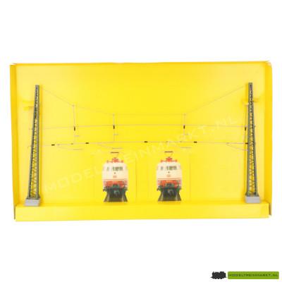 4163 Viessmann Bovenleidingsportaal 4 sporen