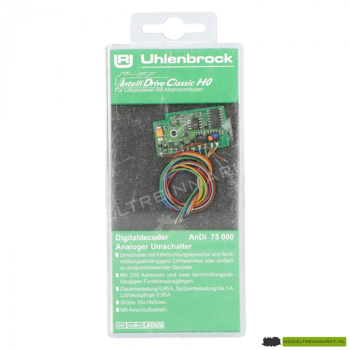 75000 Uhlenbrock Digitaal IntelliDrive Classic Motorola decoder