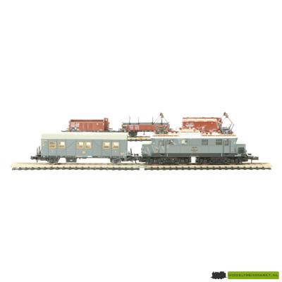 11023 Minitrix DR goederen treinset met E44