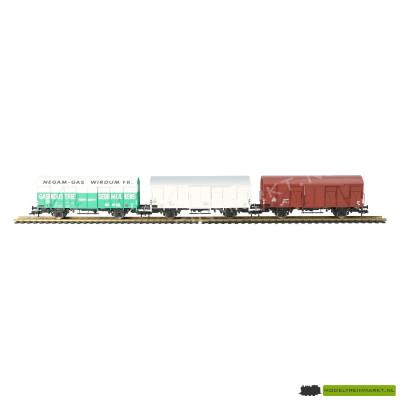 531104 NL K Fleischmann NS 3 delige goederenwagen set