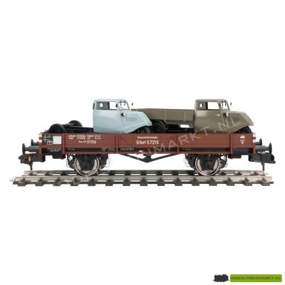 20471d Hübner X 05 niederbordiger O-Wagen met lading