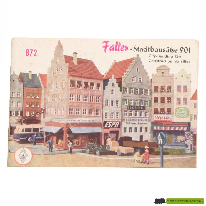857 Faller Catalogus