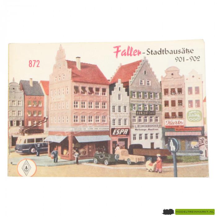"""872 Faller """"Stadtbausätze 901"""""""