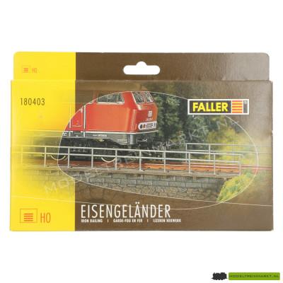 180403 Faller IJzeren hekwerk