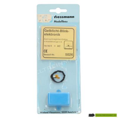 5026 Viessmann Knipperelektronica met geel zwaailicht