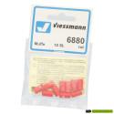 6880 Viessmann 10 Contrastekkers rood