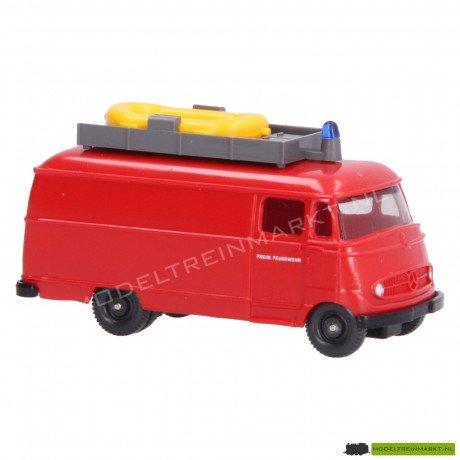 861 08 24 Wiking Mercedes-Benz L 319 Feuerwehr - Wasserrettung