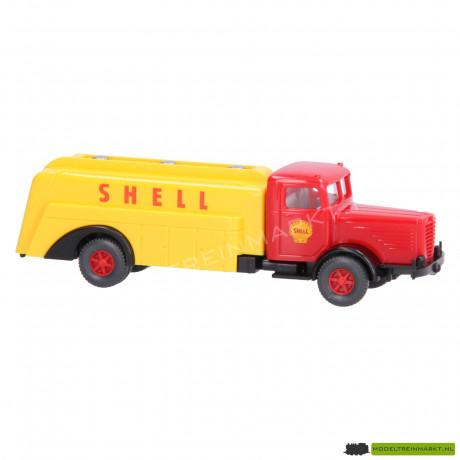 """22 883 Wiking Büssing 8000 Tankwagen """"Shell"""""""