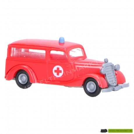 Praliné Mercedes 170V Ambulance rood