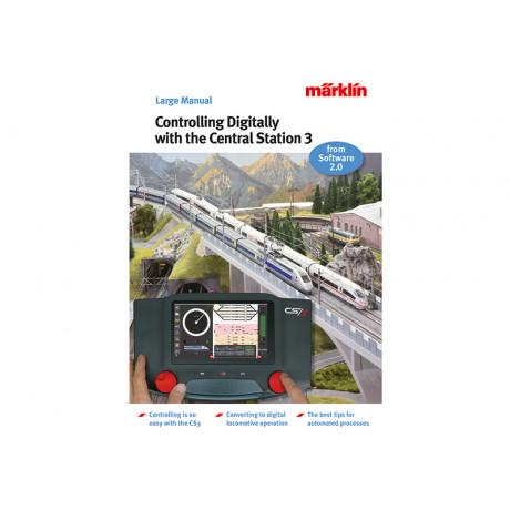 03093 Märklin Boek 'Digitaal rijden met CS3' (Engels) software versie 2