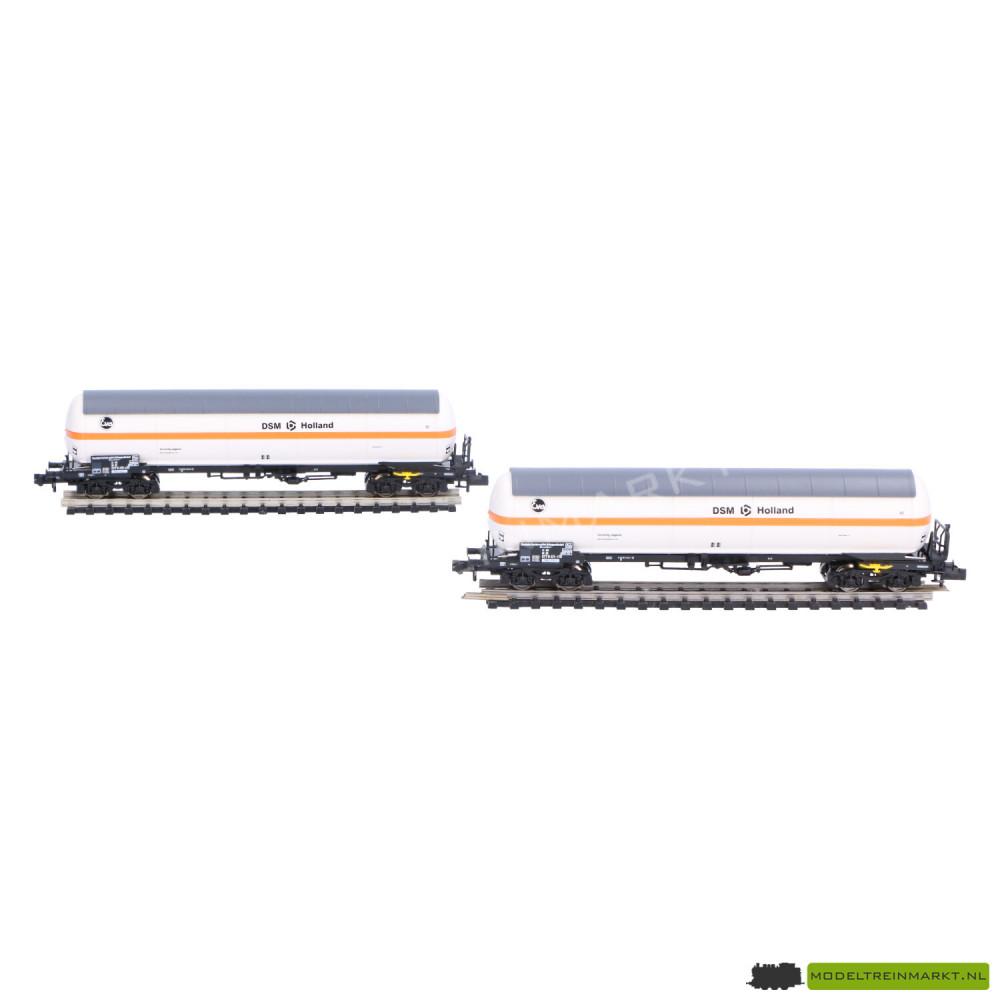"""849101 Fleischmann Gasdrukketelwagen set """"DSM Holland"""" NS"""