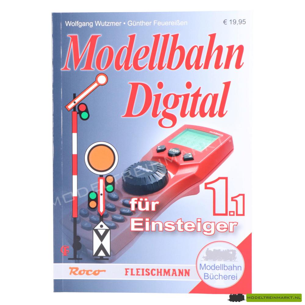 """81385 Roco/Fleischmann Handboek """"Modellbahn Digital"""" voor beginners deel 1.1"""