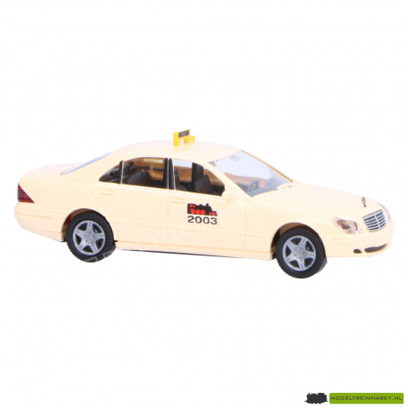149 14 Wiking Taxi Mercedes-Benz S-Klasse 2003