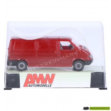 3020.1 AWM Automodelle Volkswagen Transporter rood