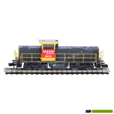 16062 Minitrix dieselloc BR 6400 van Railion DB