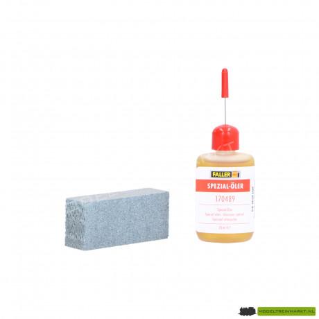 Onderhoudsetje railgum / olie