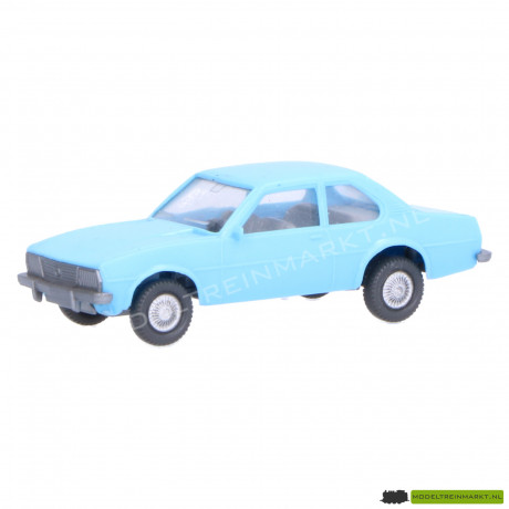 Wiking Opel Ascona blauw