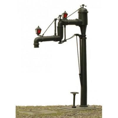400451 KM-1 Dubbele waterkraan met verwarming