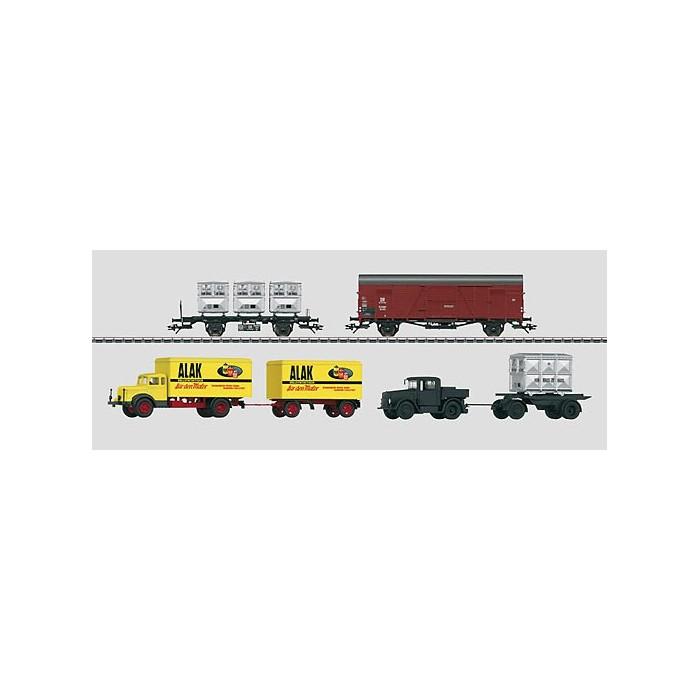 48812 Märklin Goederentransport van de Spangenberg-fabrieken