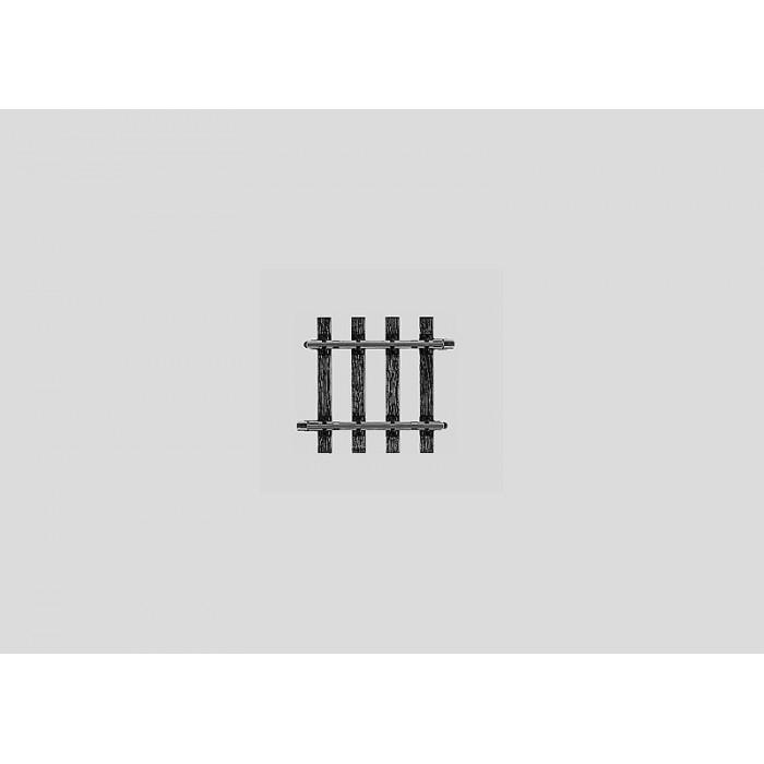 5905 Marklin SPOOR 1 rails recht 80,4mm onderbroken