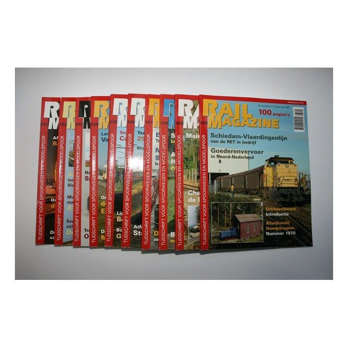 Rail Magazine per jaargang - verschillende jaren