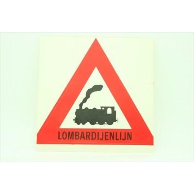 Sticker Lombardijenlijn