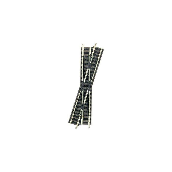 9163 Fleischmann N Piccolo kruising rechtskruisend 111 mm 15°