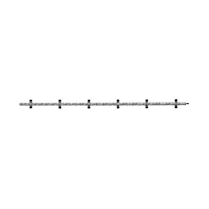 6412 Fleischmann Profi-rails Tandradstaaf voor