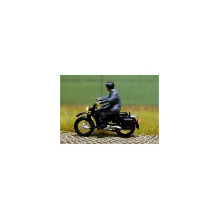 Motor met licht Bicyc-led HO