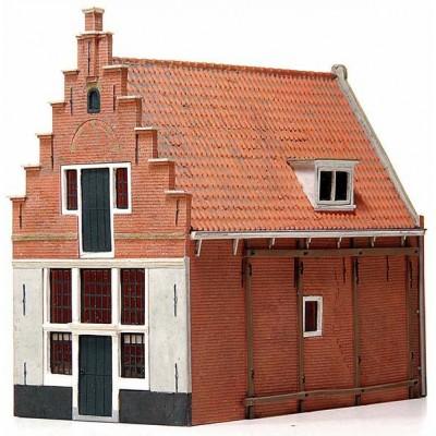 10.165 Artitec Huis 'De koophandel' 17e eeuw