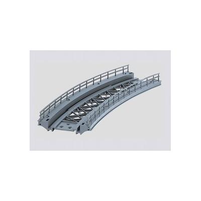 7267 Märklin K-rail gebogen oprit