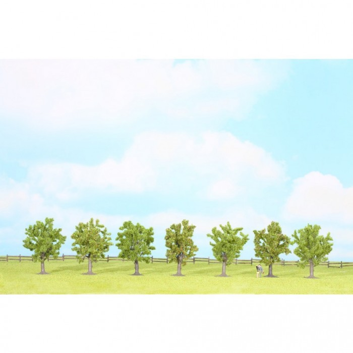 25090 Noch Groene fruitbomen 7 stuks