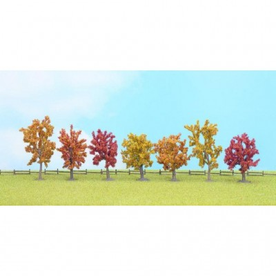 25070 Noch Herfstbomen 7 stuks